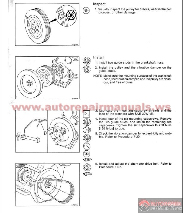 cummins nt855 engines troubleshooting and repair manual auto repair manual forum heavy