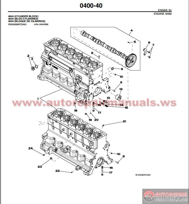 john deere 700j crawler dozer tier 3 parts catalog