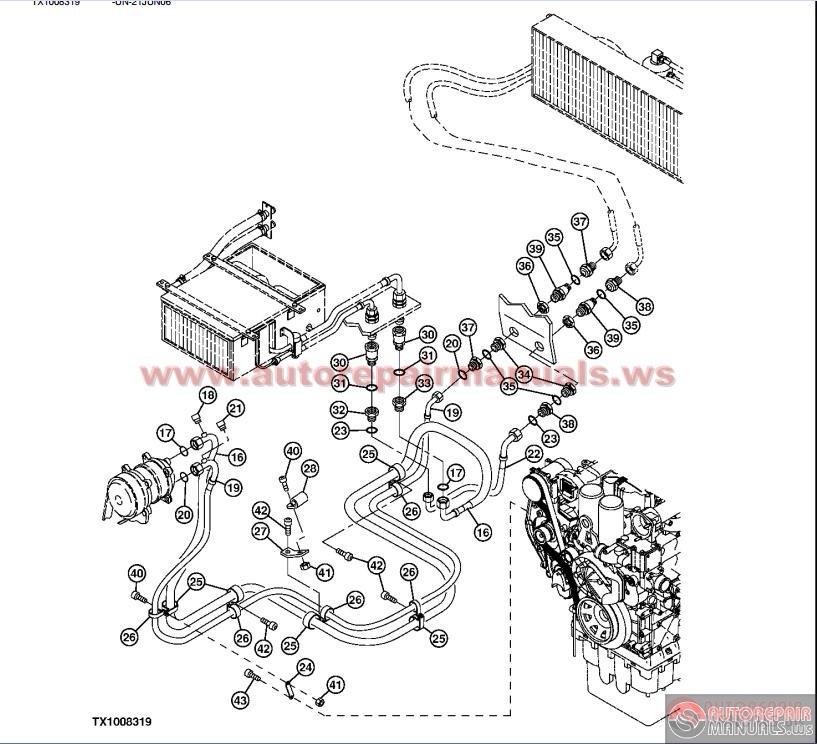 john deere 350c dozer parts john tractor engine and John Deere Electrical Diagrams John Deere 3020 Electrical Diagram