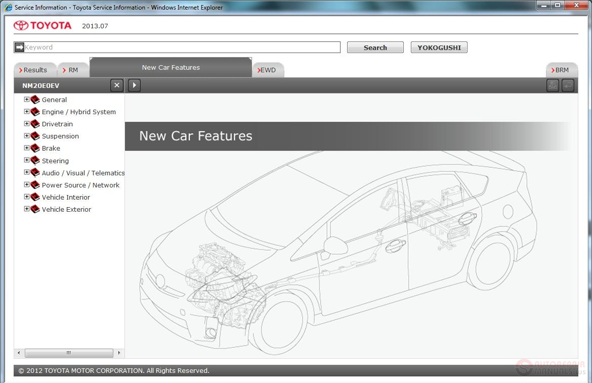 2012 Toyota Camry Service Manual