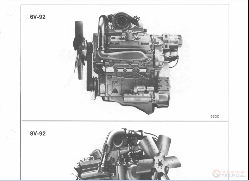 Detroit Diesel 92 Series Service Manual Auto Repair