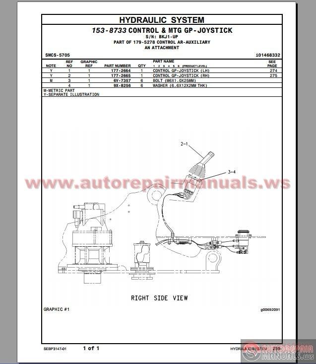 cat 12h grader parts manual