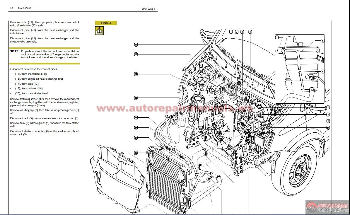 Iveco Daily Euro 4 Repair Manual on workshop electrical wiring
