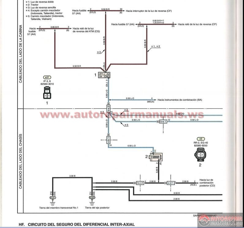 Hino Series 500 Workshop Manual