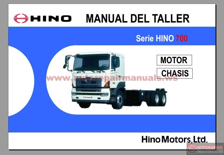 hino series 700 workshop manual | auto repair manual forum - heavy, Wiring diagram
