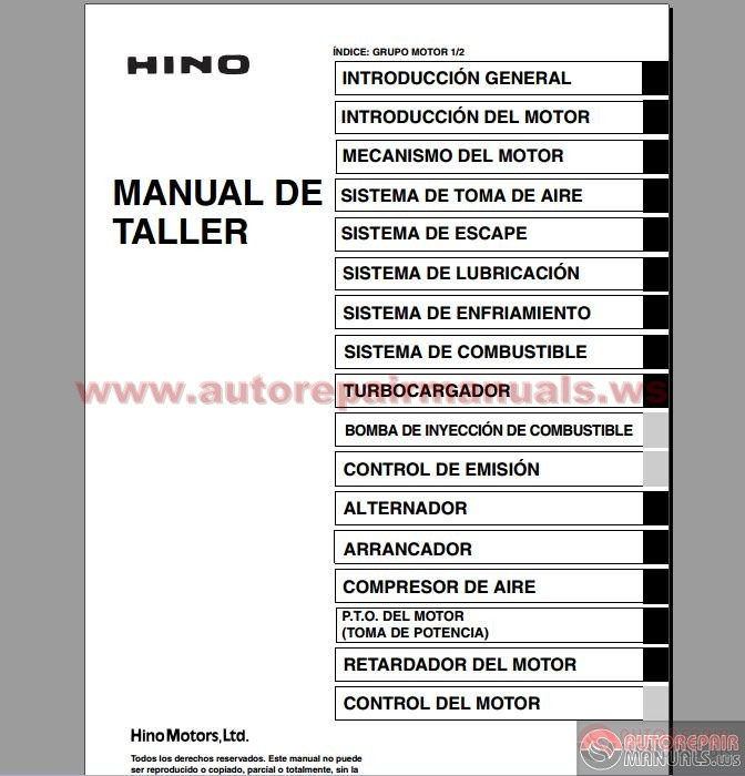 hino series 700 workshop manual auto repair manual forum heavy equipment forums download Mitsubishi Radio Wiring Diagram Factory Car Stereo Wiring Diagrams