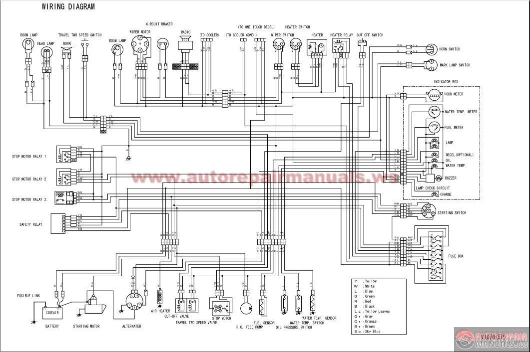 engine diagram yanmar 6lp yanmar 315 problems wiring Yanmar Hydraulics Diagram YANMAR Crawler Backhoe model Vio70 for Europe Parts Catalog2