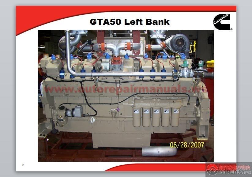 cummins gta50 power generator