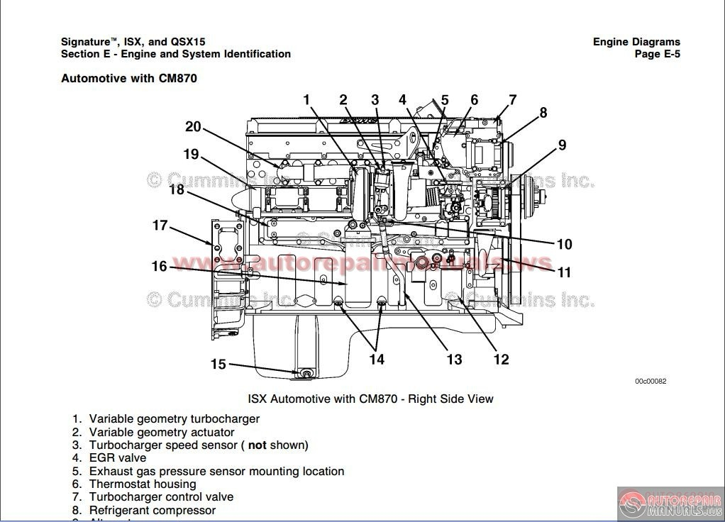 cummins isx and qsx 15 volmume 1 service manual | auto ... cummins fire engine diagrams free #3
