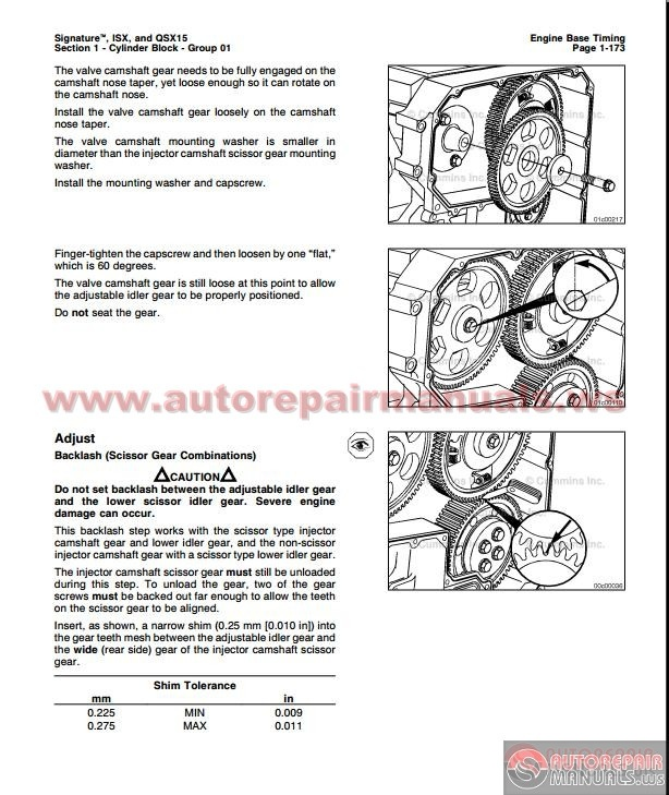 cummins isx and qsx 15 volmume 1 service manual