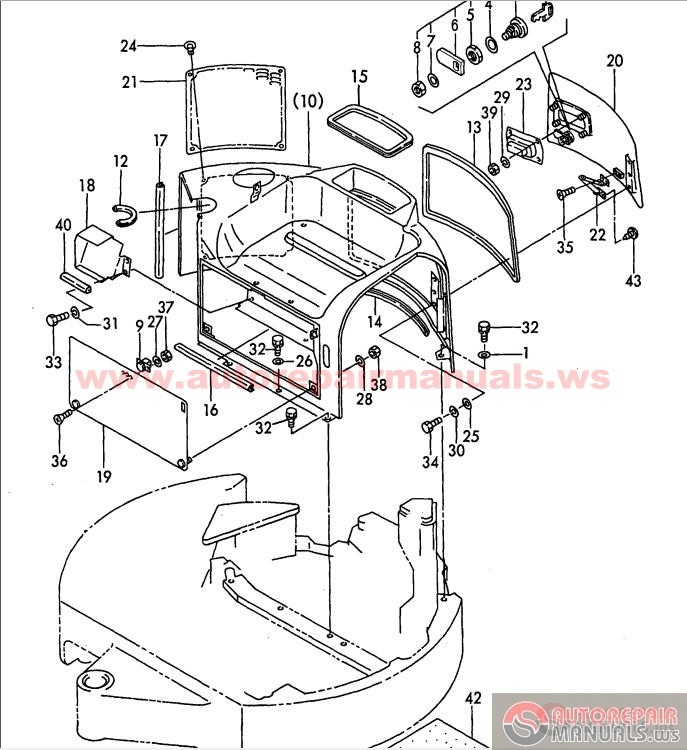 4600 ford tractor brakes diagram