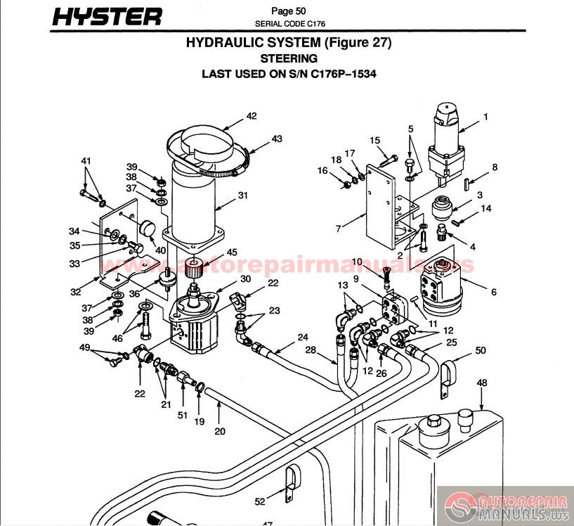 Hyster 50 Forklift Wiring Diagram on nissan forklift wiring diagrams