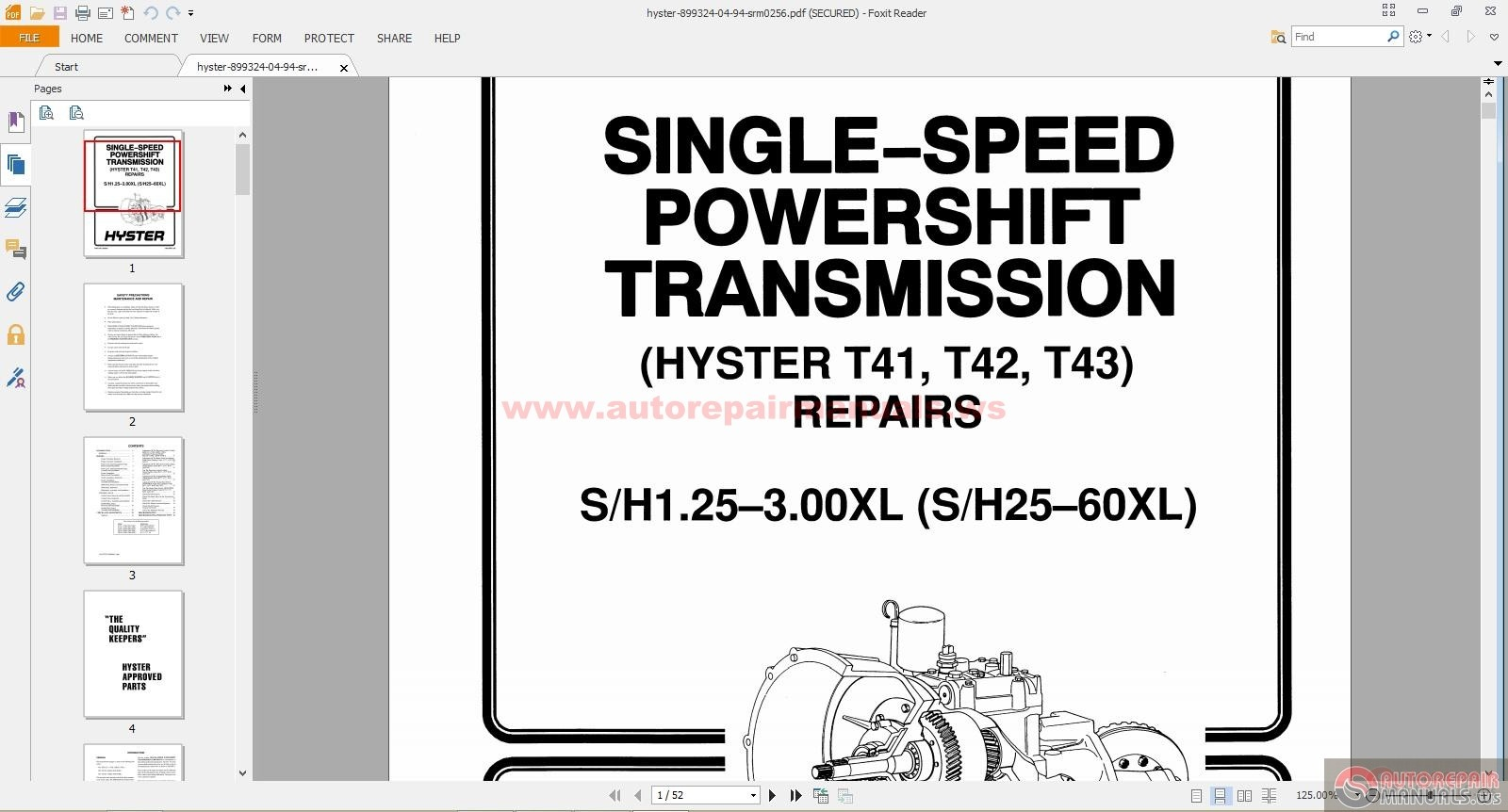 Forklift Transmission Parts : Hyster engine diagram gmc wiring