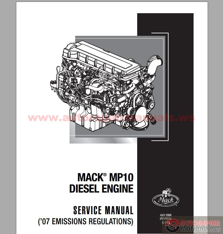 Mack Mp10 Diesel Engine Service Manuals