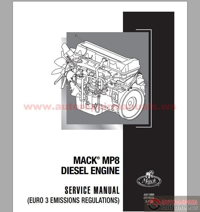 mack engine wiring harness mack mp8 diesel engine euro 3 service manuals auto diagrams on mack engine