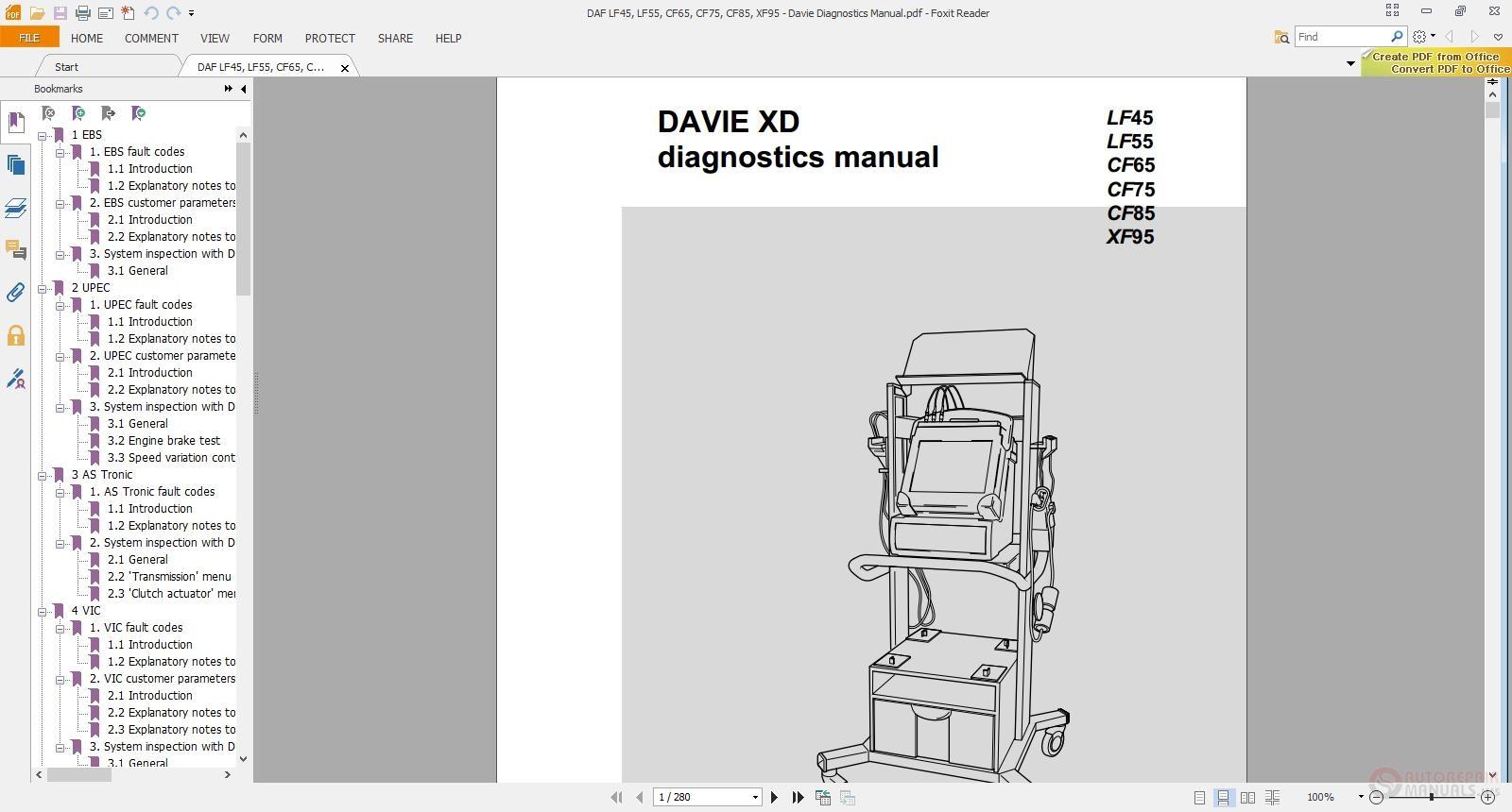 Daf Wiring Diagram Daf Lf45 Lf55 Electrical Wiring Diagram Auto