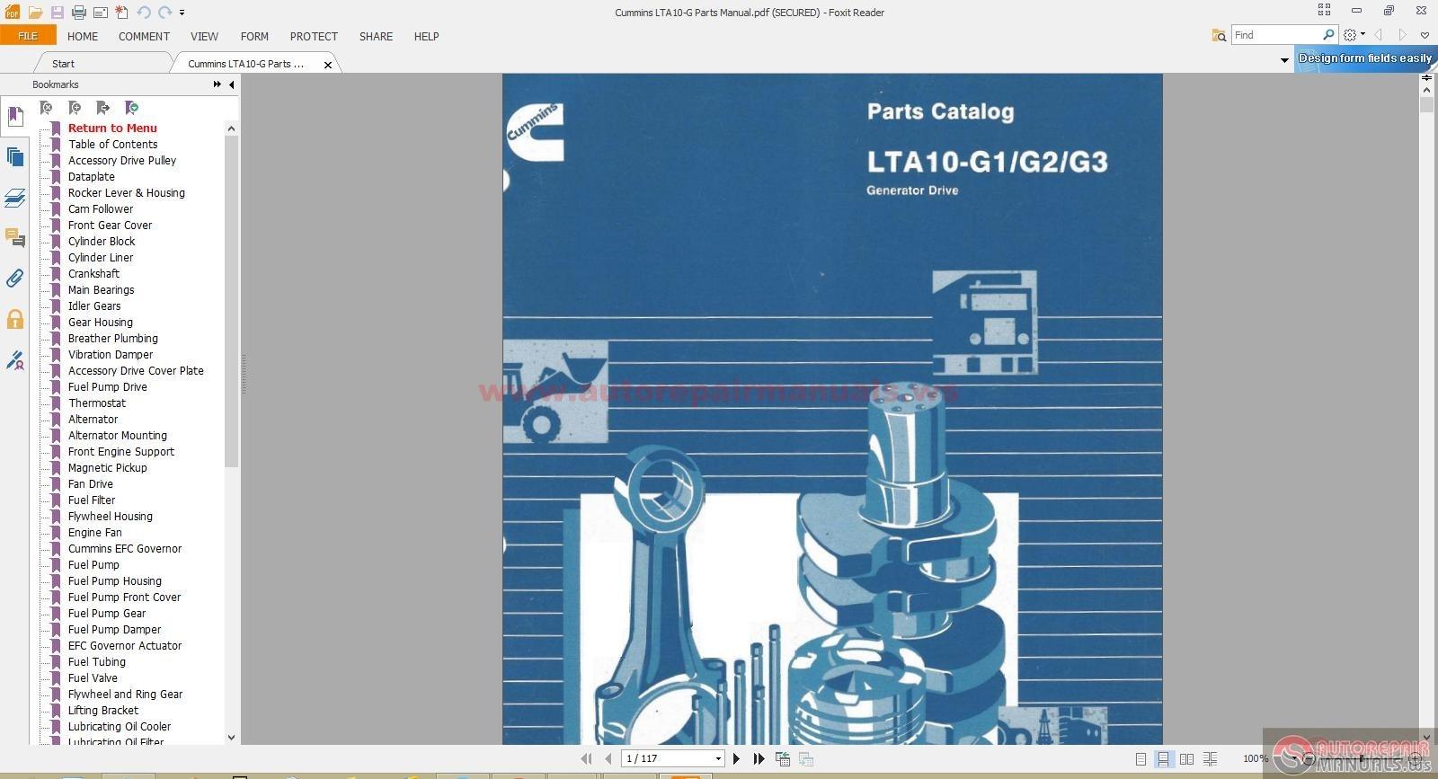 Cummins Lta G Parts Manualizp on Generator Wiring Diagram