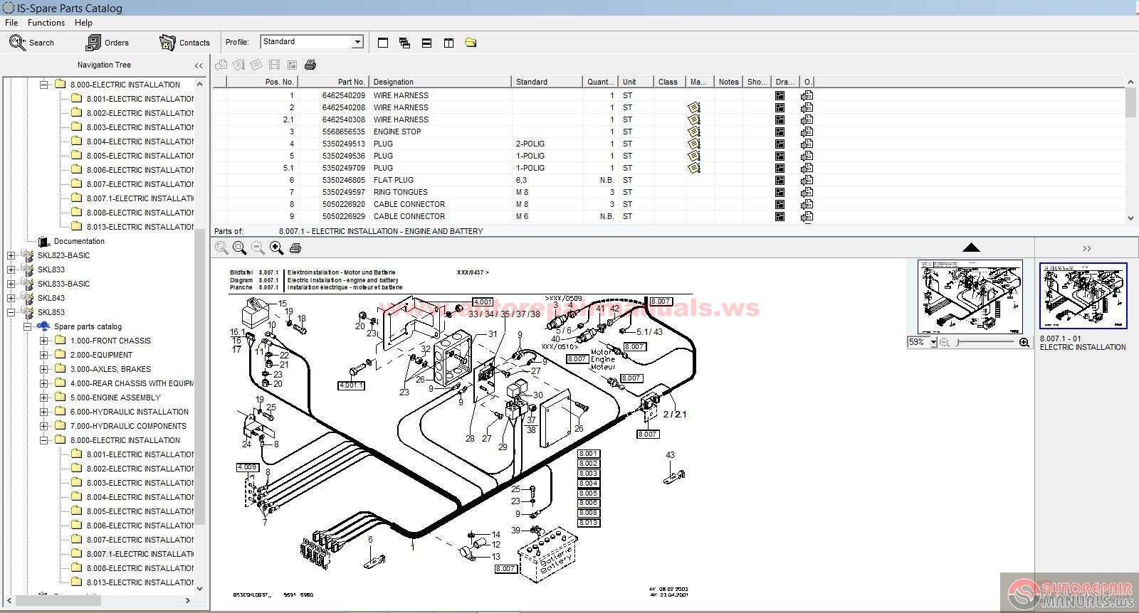 Terex_SKL_823833843853863873_Parts_Catalog5 demag wiring diagram ingersoll rand wiring diagram wiring diagram demag wiring diagram at webbmarketing.co