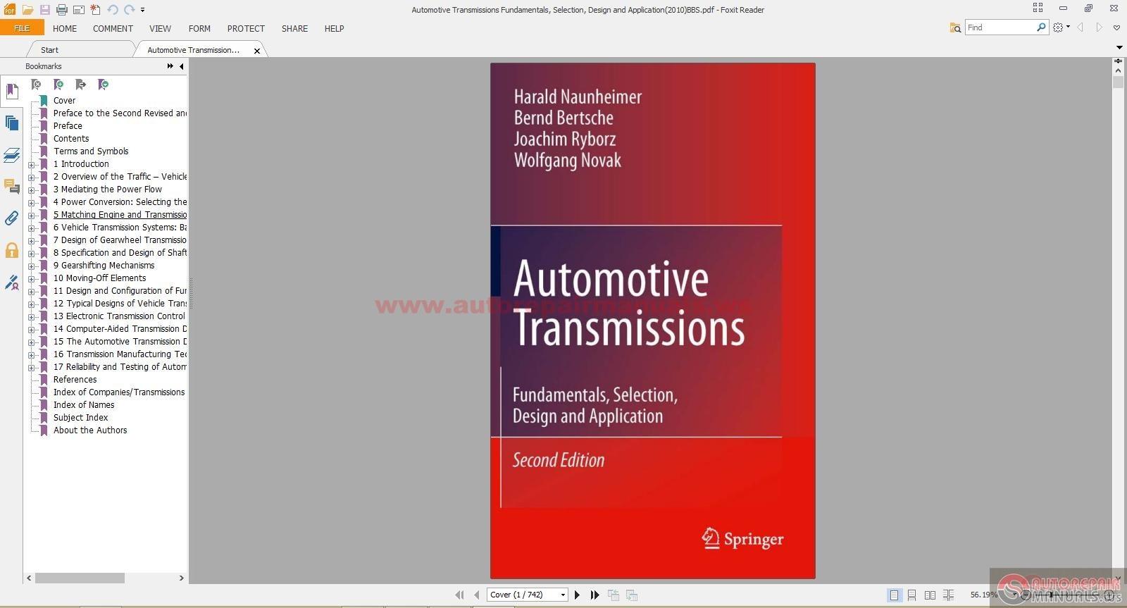 Automotive Transmissions Fundamentals Selection Design And Application 2010 Bbs Auto Repair Manual Forum Heavy Equipment Forums Download Repair Workshop Manual