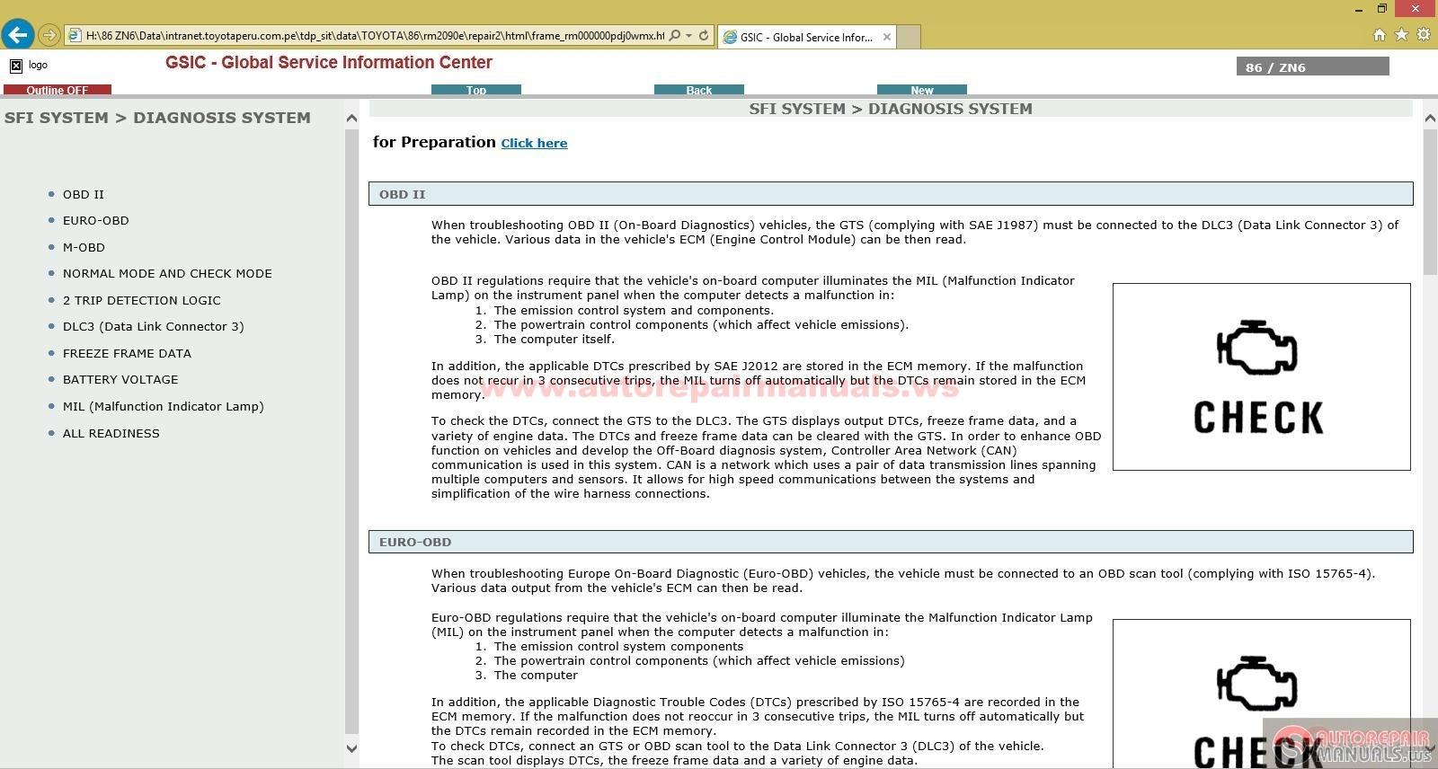 Toyota Factory Service And Repair Manual 2007 4runner