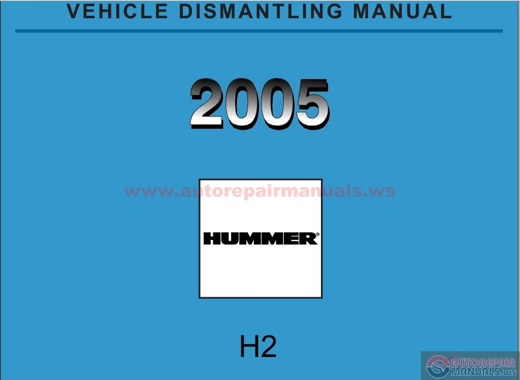 2005 shop manual online service and repair manuals html