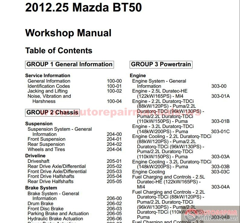 bt 50 service manual product user guide instruction u2022 rh testdpc co 2012 mazda bt 50 service manual mazda bt50 service manual pdf free download