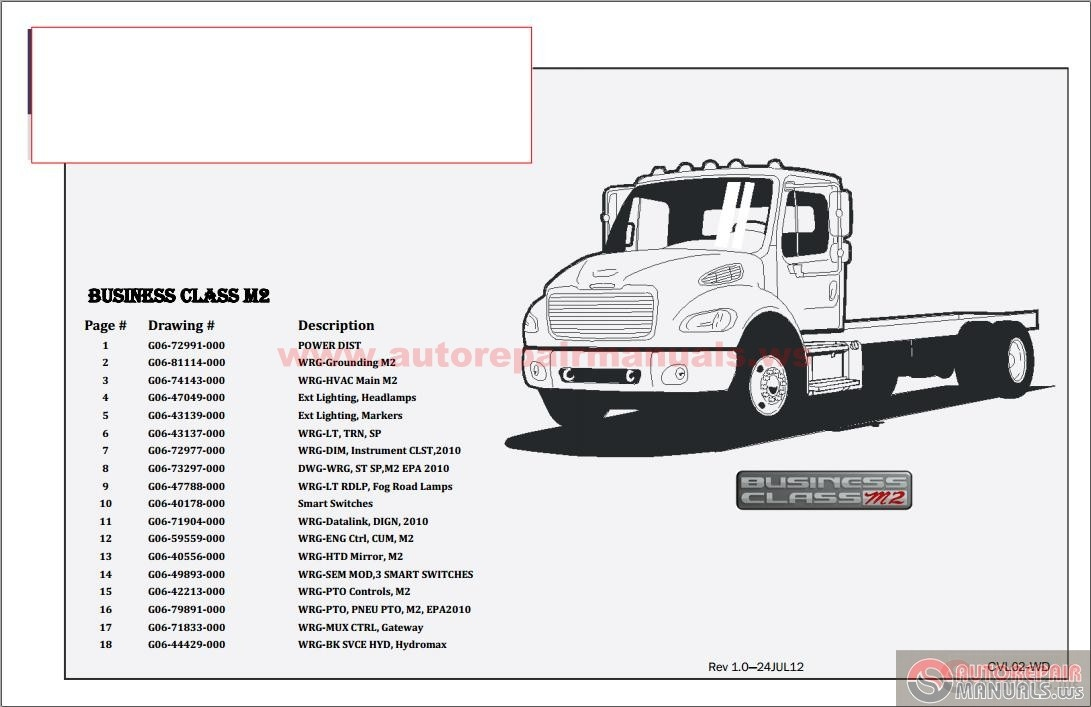 Freightliner M2 Wiring Diagrams on m11 ecm wiring diagram