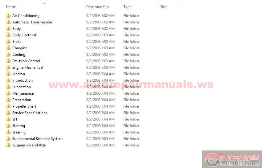 Lexus Ls400 2000 Repair Manual