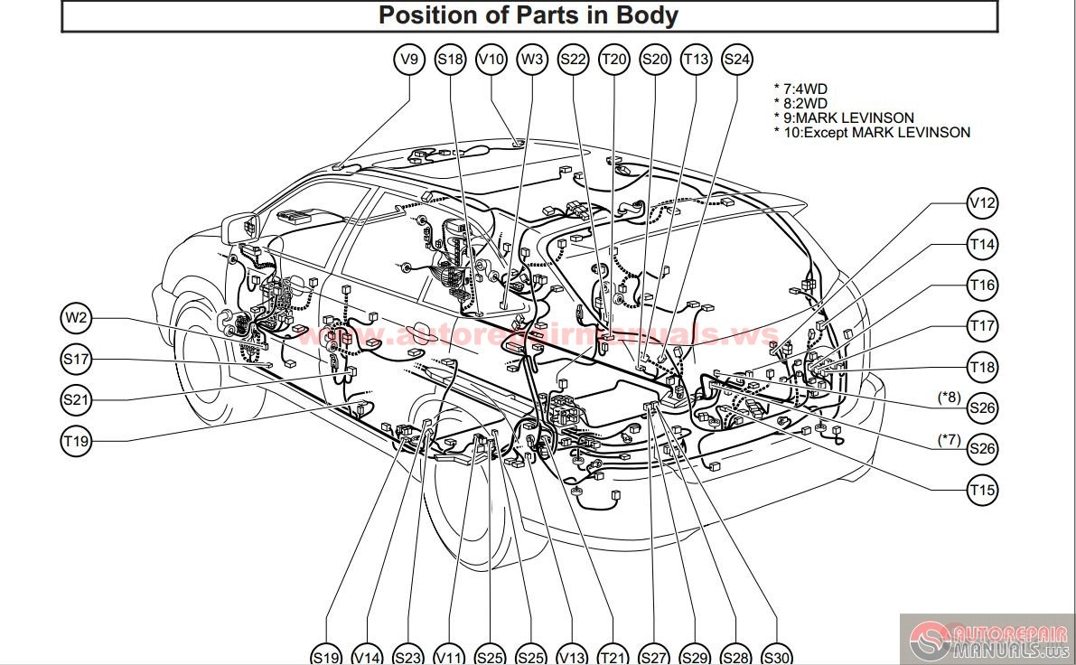 35 Lexus Rx 350 Parts Diagram