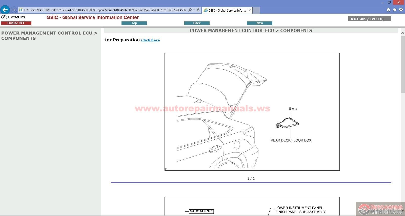2008 Lexus Rx 350 Rear Door Parts Diagram Schematics Data Wiring Es350 1997 Get Free Image About