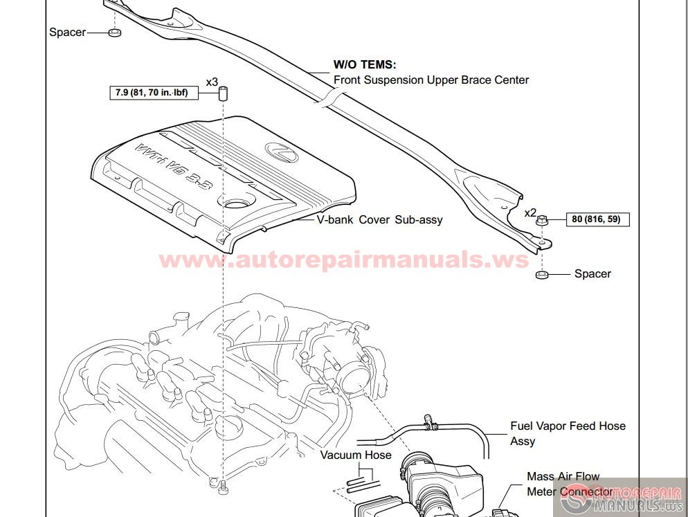 Toyota Avalon Engine Schematics on wiring harness for toyota sienna