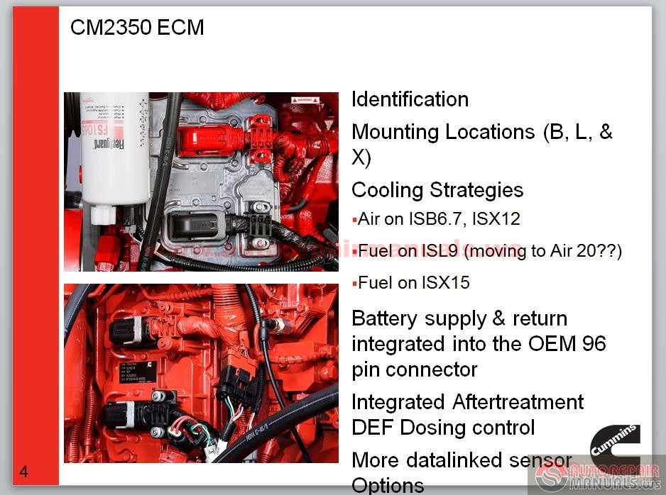 Cummins EPA 2013 CM2350 Technician Training Update   Auto