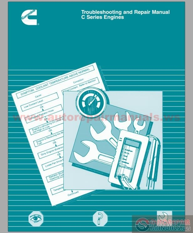 Diesel Engine And Fuel System Repair 5th Edition Download: Cummins C Series Engine Troubleshooting And Repair Manual
