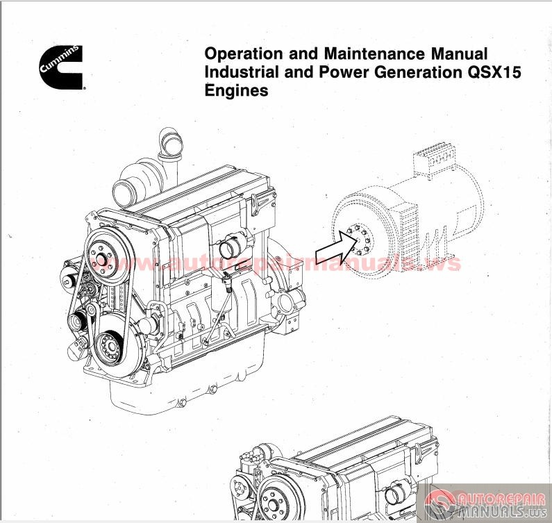 cummins qsx15 engines operation and maintenance manual