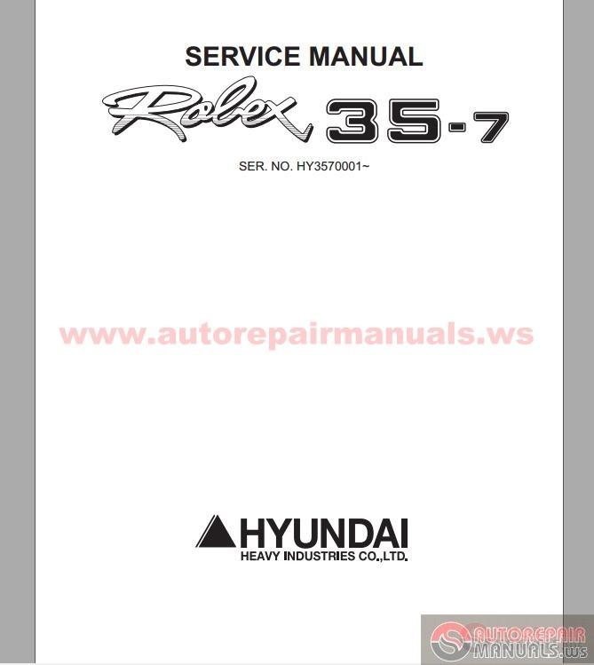 manual for hyundai excavators repair beertopp. Black Bedroom Furniture Sets. Home Design Ideas