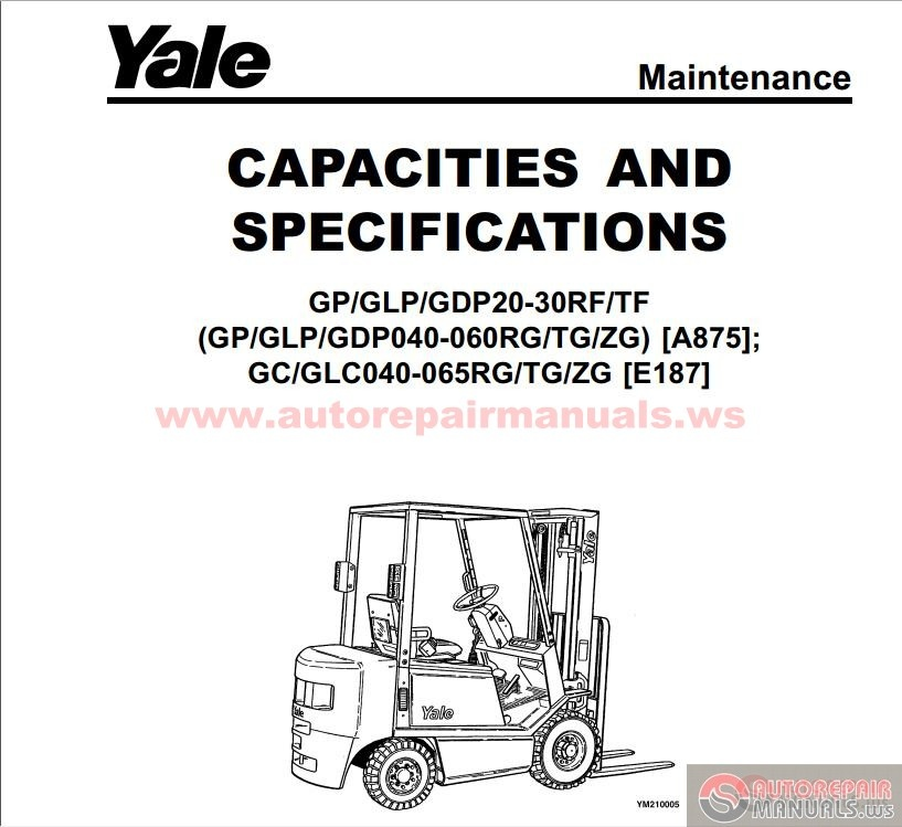 Yale Forklift A875 Maintenance And Repair Auto Repair
