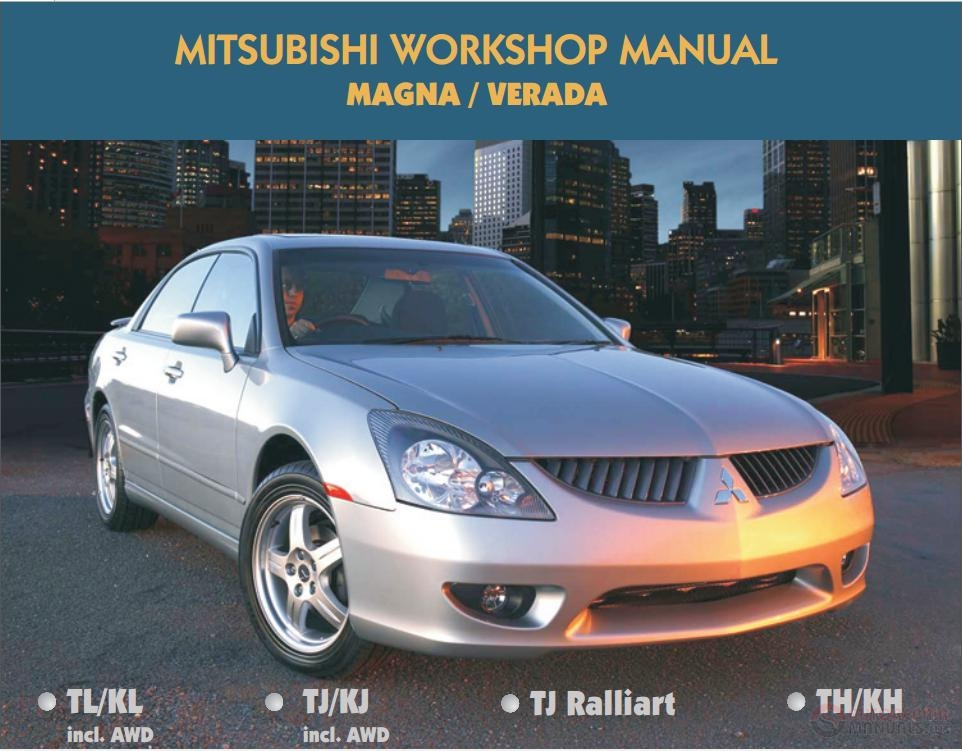 mitsubishi workshop manual magna verada auto repair. Black Bedroom Furniture Sets. Home Design Ideas