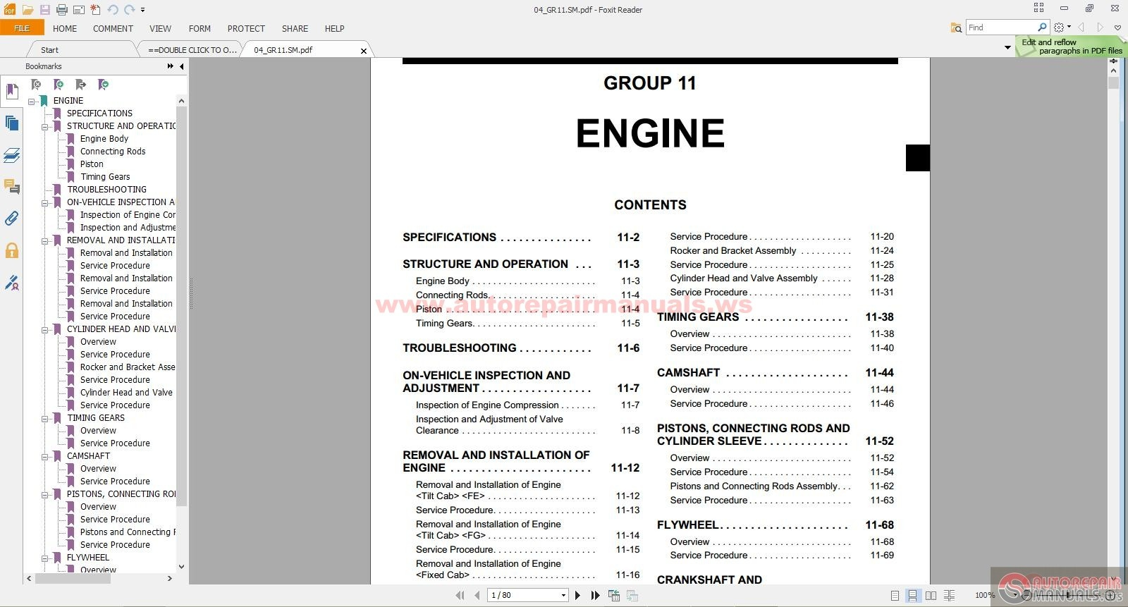 Mitsubishi Canter 4d34t3 Diesel Engine Shop Manual Auto