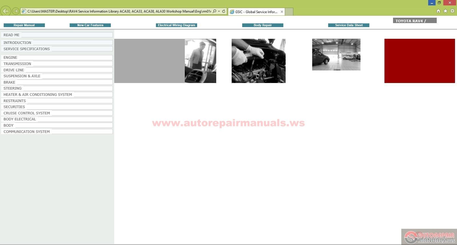 2011 toyota rav4 repair manual pdf