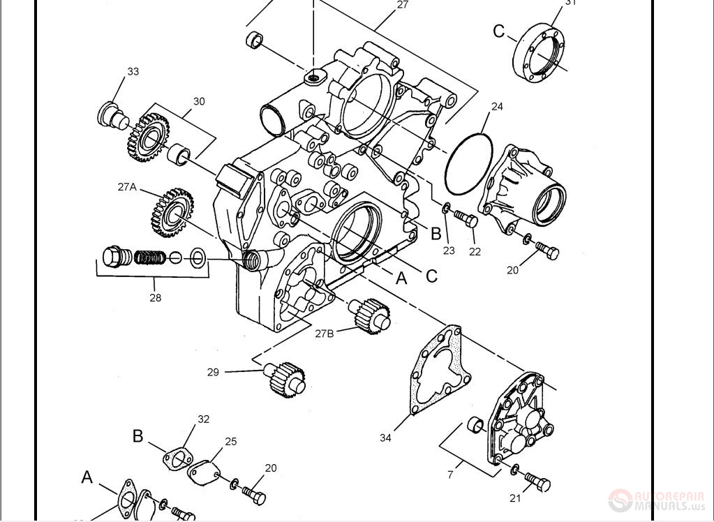 Cat 320d 320d L Excavators Parts Manual