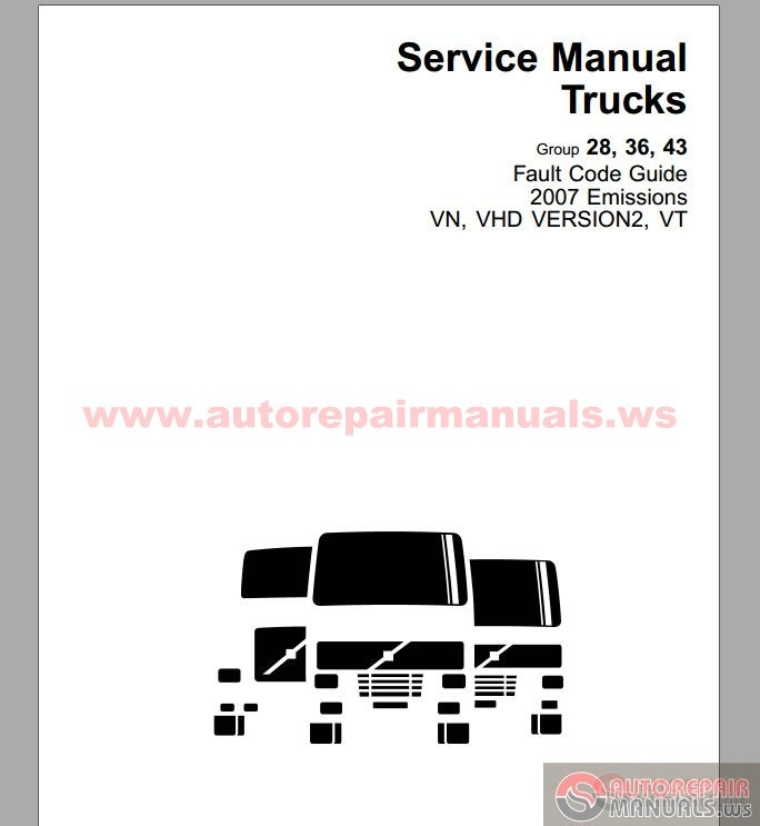 Volvo Trucks Fault Code Guider 2007 Emissions Vn Vhd Version 2   Vt