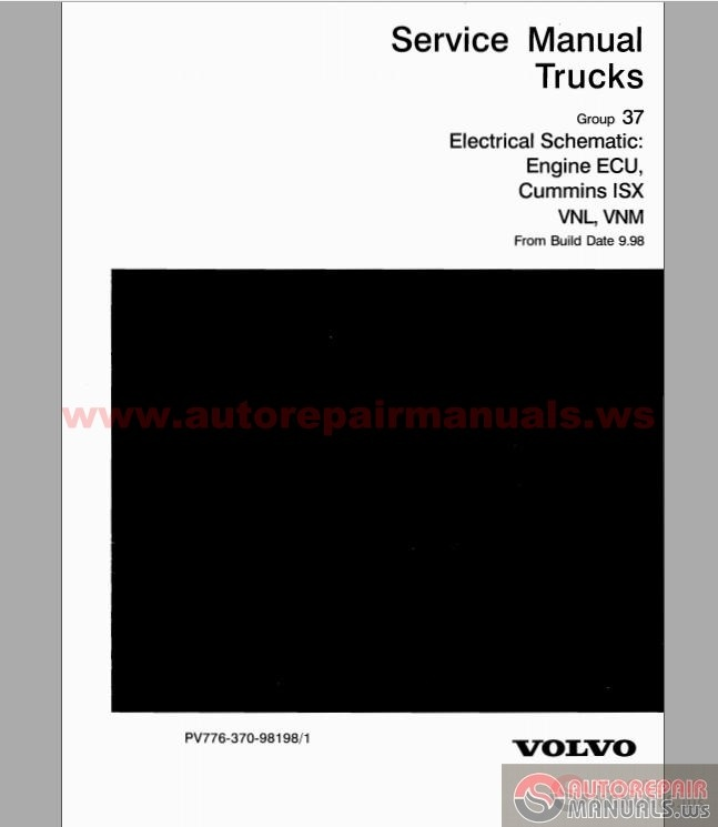 Volvo - Vnl  Vnm Electrical Schematic