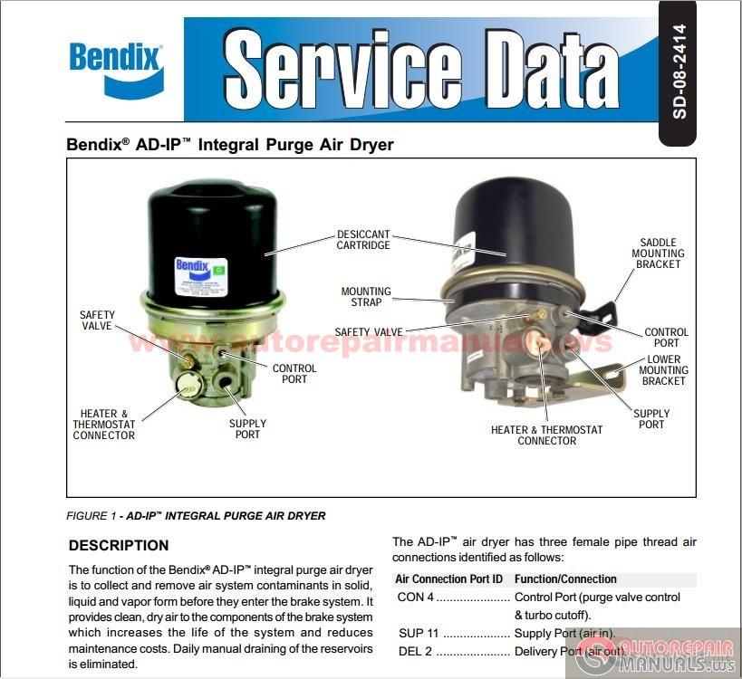 Bendix_-_AD-IP_Sevice_Data_SD-08-2414  Sd Motor Starter Wiring Diagram on basic ac, heavy duty, eaton cutler hammer, start stop jog, for reversing, ge cr306,