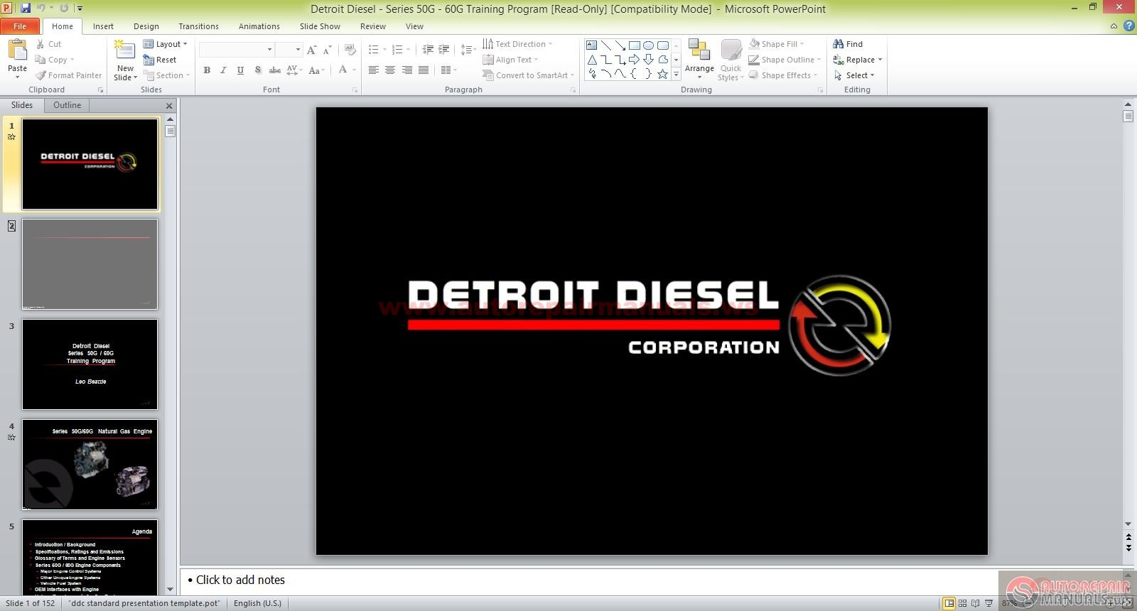 detroit diesel series g g training program auto repair detroit diesel series 50g 60g training program size 10 2mb language english type ppt pages 152