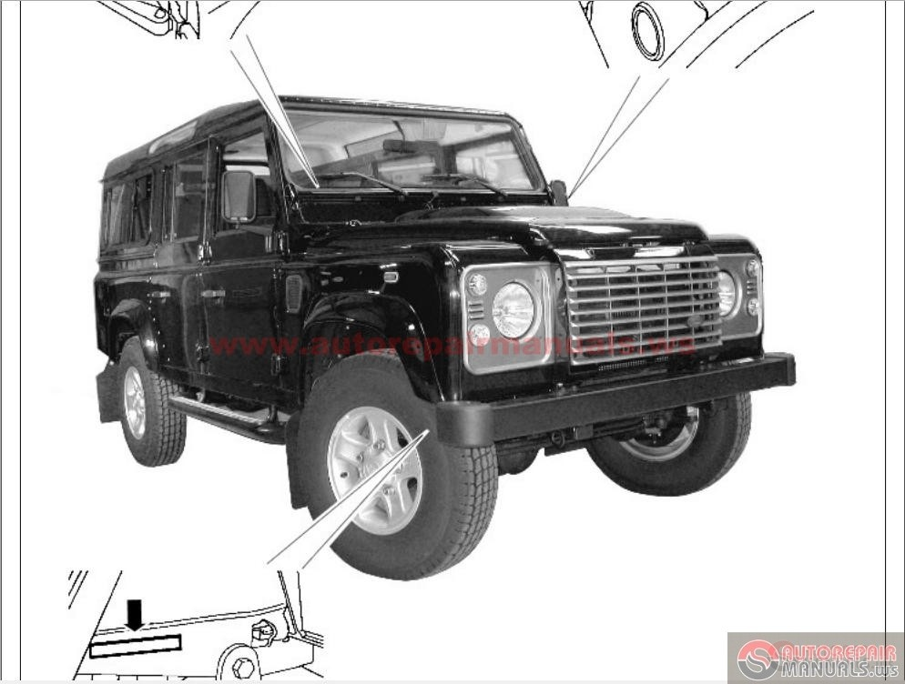 land rover defender my2007 on workshop manual auto. Black Bedroom Furniture Sets. Home Design Ideas