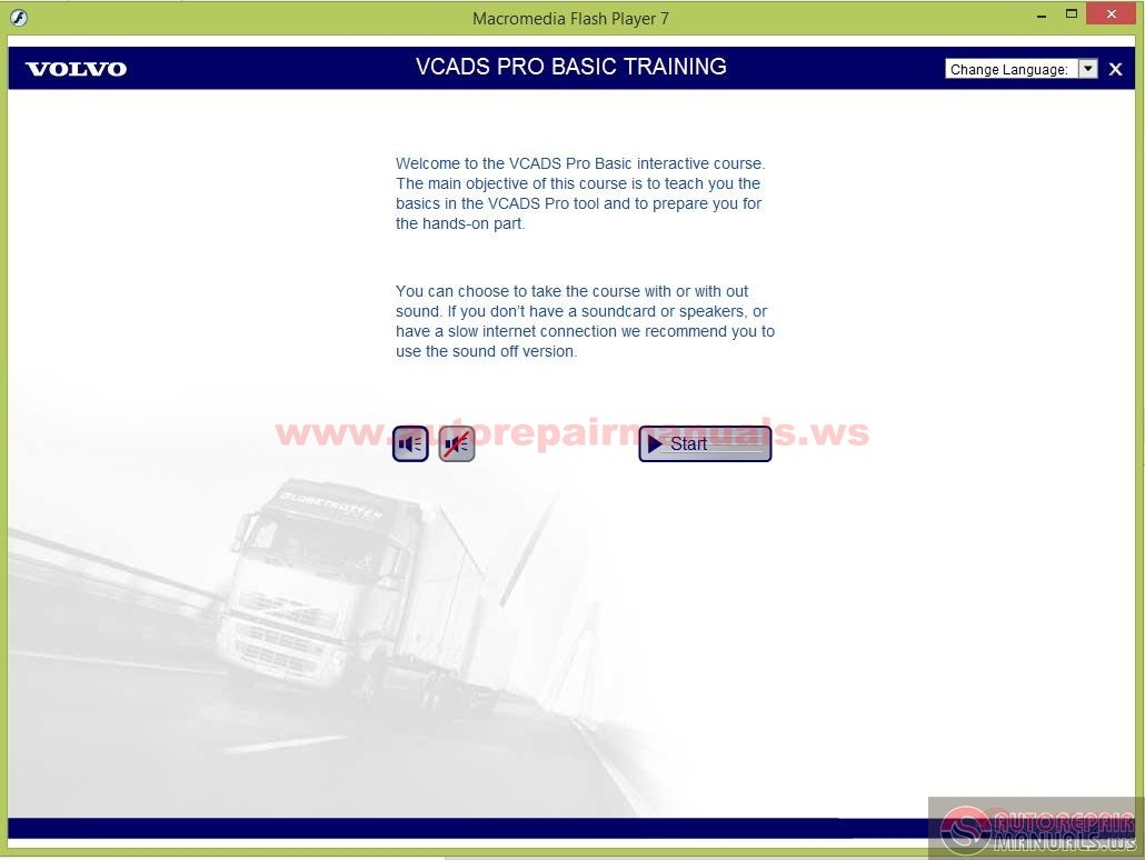 Volvo Vcads Pro Basic Training