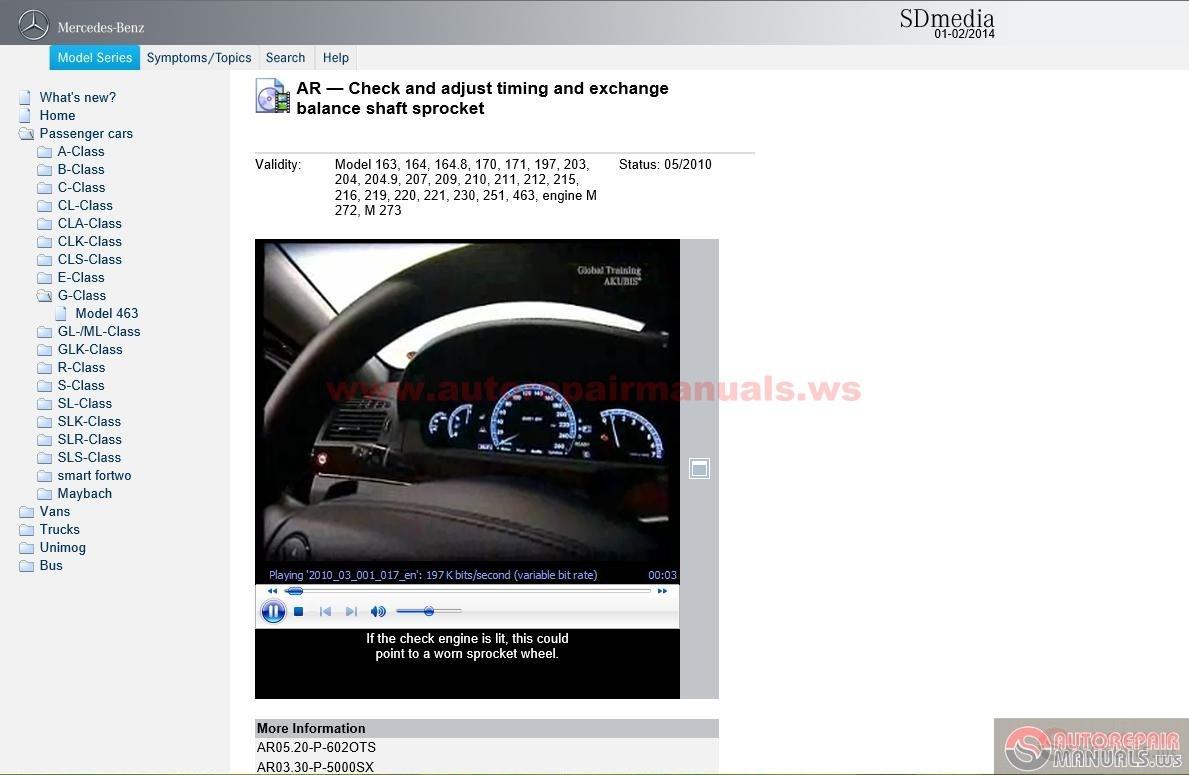 mercedes benz auto repair manuals