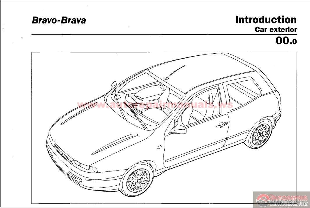 FIAT BRAVO WORKSHOP MANUALS DOWNLOAD
