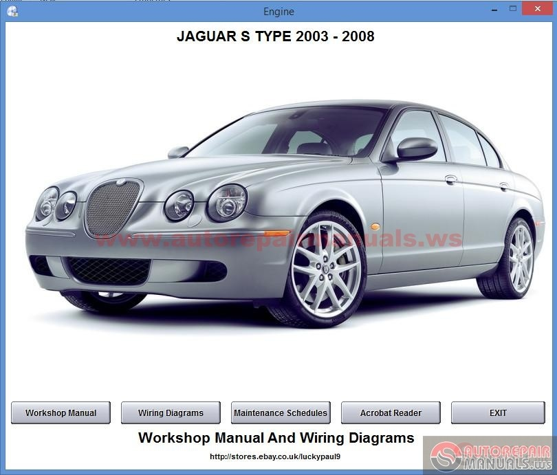 jaguar s type 2003 2008 auto repair manual forum. Black Bedroom Furniture Sets. Home Design Ideas