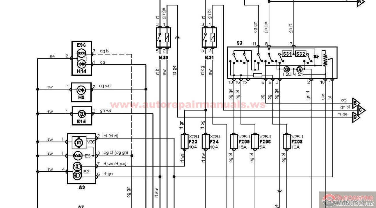 ford - transit 2 0 di schematic